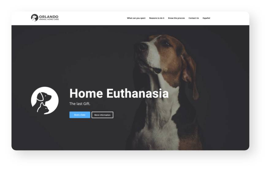 Orlando Animal Home Care Website